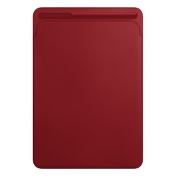 iPad Pro 10,5'' Leather Sleeve - (RED)