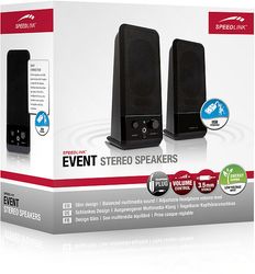 EVENT Stereo Speakers, black